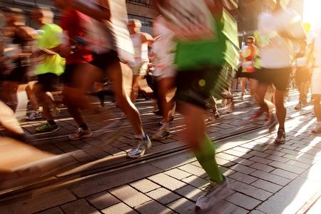 Photo pour Marathon - image libre de droit