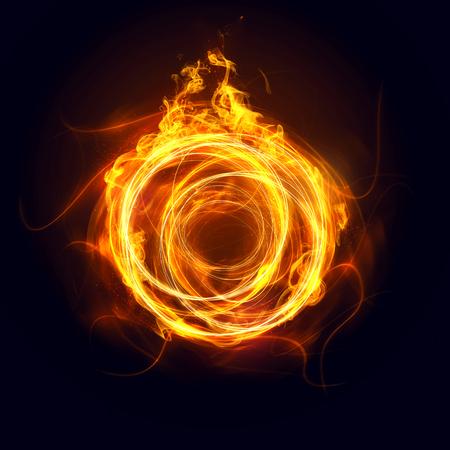 Foto de Ring of fire - Imagen libre de derechos