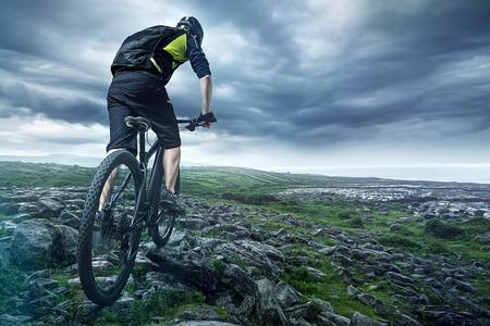 Foto de The Biker - Imagen libre de derechos