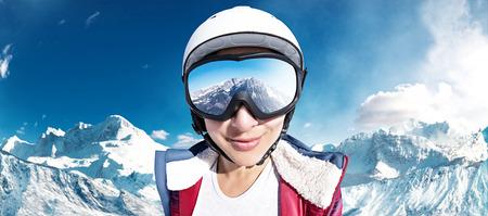 Foto de Ski Girl - Imagen libre de derechos