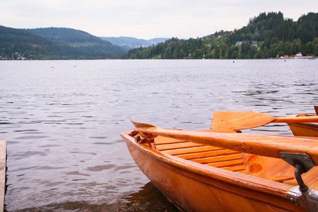 Foto de Titisee lake in black forest of Baden Wuttemberg, Germany  - Imagen libre de derechos
