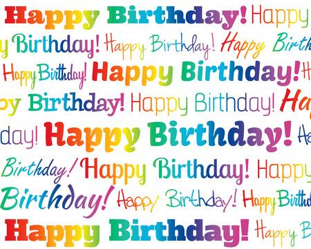 Illustration pour Happy Birthday - image libre de droit