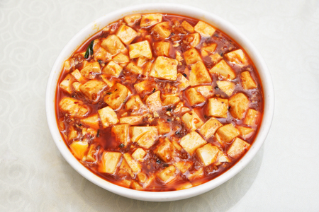 Photo for Sichuan mapo tofu, chinese food - Royalty Free Image