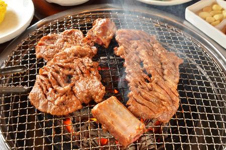 Foto de Korean beef barbecue called Yakiniku - Imagen libre de derechos