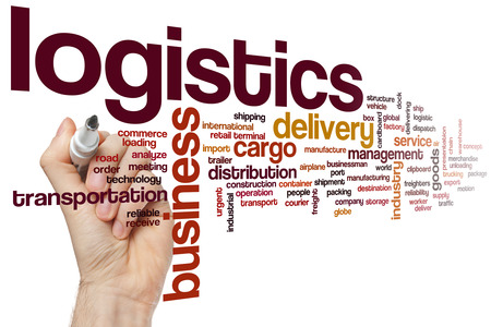 Logistics word cloud concept