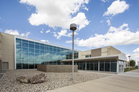Foto de Exterior Of Modern Hospital Building - Imagen libre de derechos