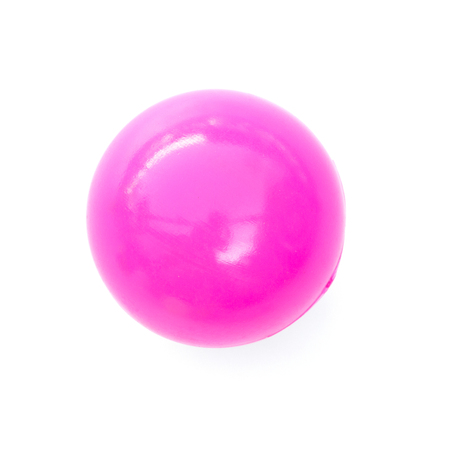 Photo pour pink ball isolated on white background. - image libre de droit