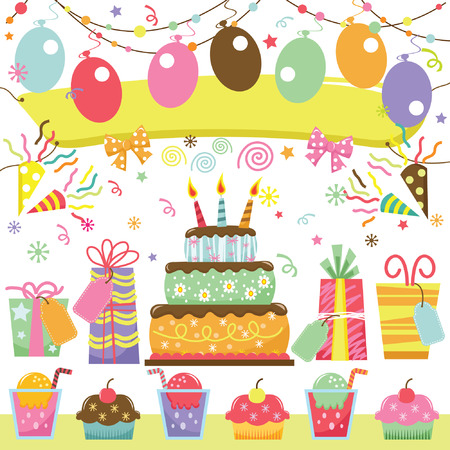 Illustration for Surprise Birthday - Royalty Free Image