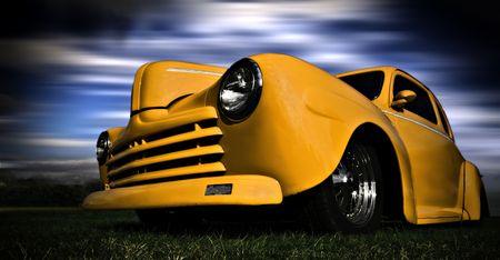 Foto de Yellow Car - Imagen libre de derechos