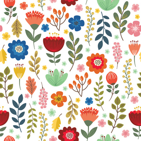 Illustration pour seamless floral pattern - image libre de droit
