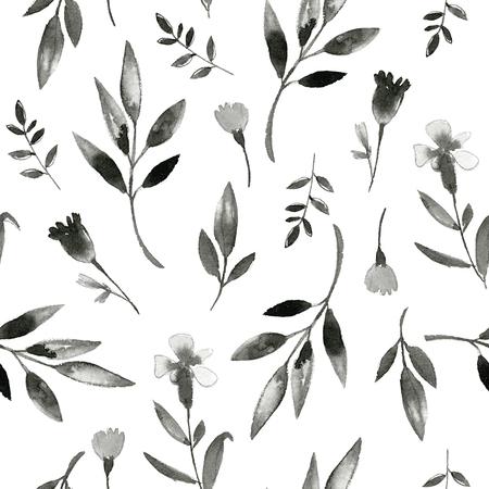 Photo pour Watercolor pattern - image libre de droit