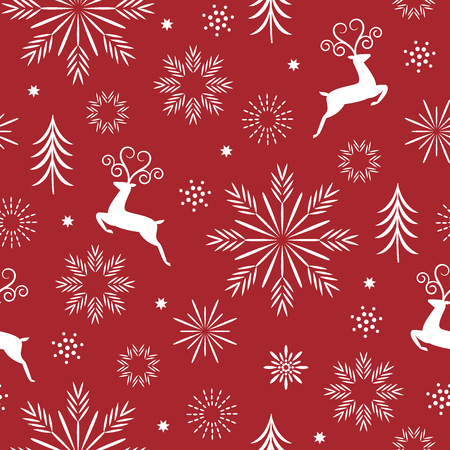 Illustration for seasons greetings, beautifil christmas background - Royalty Free Image