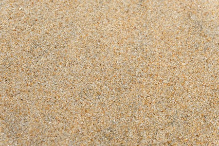 Photo for Sand on the beach as background or Sand texture background - Top view - Royalty Free Image