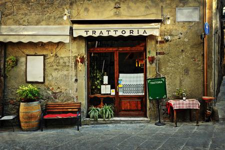 Photo pour italian restaurant - image libre de droit