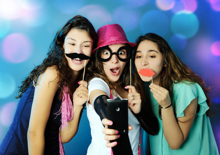 Photo for funny girls - Royalty Free Image