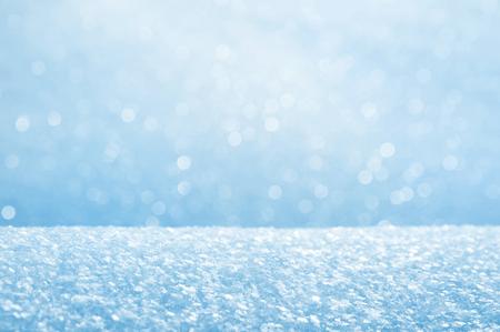 Foto de Winter bright background from fluffy brilliant snow - Imagen libre de derechos