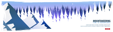 Illustration pour Extreme sports banner design illustration. - image libre de droit