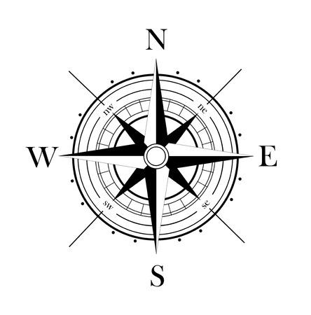 Ilustración de wind rose - Imagen libre de derechos