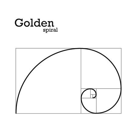 Ilustración de Golden proportion - Imagen libre de derechos