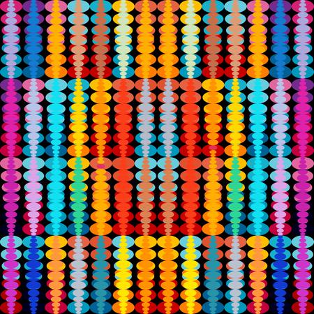 Illustration pour bright colored geometric seamless pattern - image libre de droit