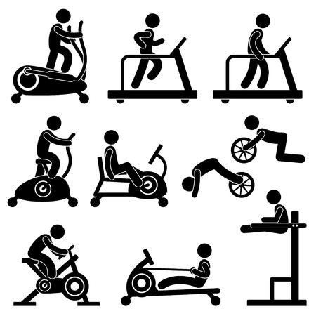 Athletic Gym Gymnasium Fitness Exercise Training Workout