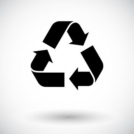 Ilustración de Recycle Icon Vector  - Imagen libre de derechos