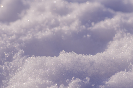 Photo for Snow shined with sun. Abstract snow texture. Beautiful abstract snow background - Royalty Free Image