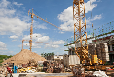 Photo for building under construction - Royalty Free Image
