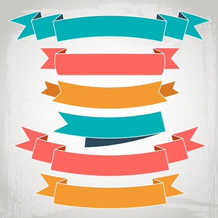 Illustration pour vector ribbons - image libre de droit