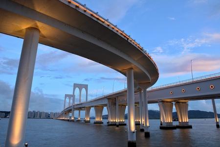 Sai Van bridge in Macau