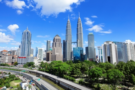 Foto de Kuala Lumpur skyline - Imagen libre de derechos