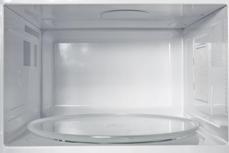 Photo pour Inside of the microwave oven - image libre de droit