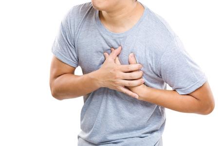 Foto de Heart Attack of man - Imagen libre de derechos