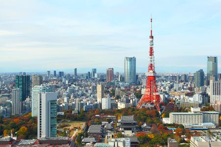 Photo pour Tokyo city in Japan - image libre de droit