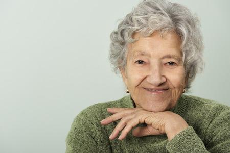 Photo for Senior lady portrait - Royalty Free Image