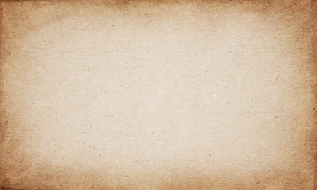 Photo pour Realistic brown cardboard stained vector texture - image libre de droit