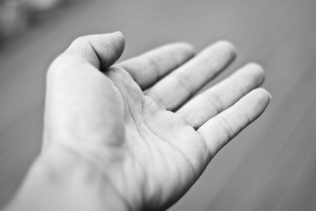Foto de Outstretched hand - Imagen libre de derechos