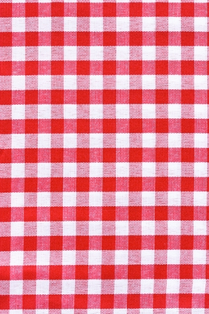 Red and white tablecloth   Provence style