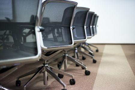 Photo pour Empty business conference room interior. - image libre de droit