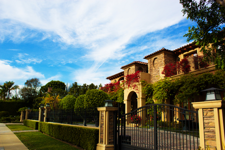 Photo pour California Dream Houses Beverly Hills .Beautiful homes and estates in Los Angeles, CA. - image libre de droit