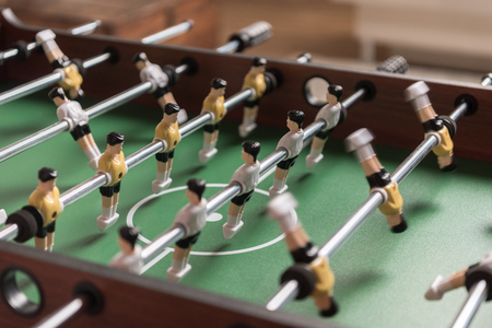 Photo pour Close-up view of table football - image libre de droit