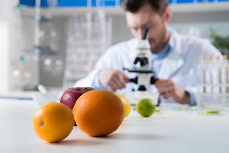 Foto de scientist during work at modern biological laboratory - Imagen libre de derechos