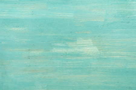 Photo pour Abstract empty turquoise wooden textured background - image libre de droit