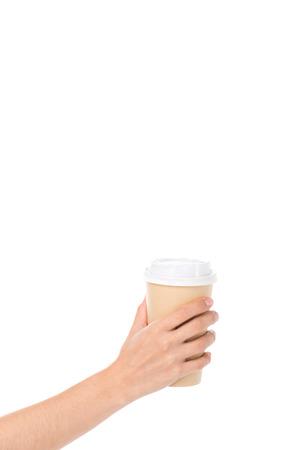 Photo pour disposable coffee cup - image libre de droit