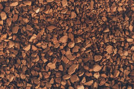 Foto de brown instant coffee texture or background - Imagen libre de derechos