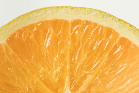 Photo pour Close-up view of ripe orange fruit flesh - image libre de droit