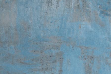 Foto de full frame of old weathered grey and blue concrete background - Imagen libre de derechos
