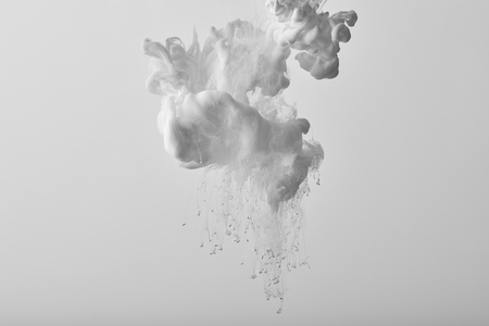 Photo for Abstract background with white splash of gouache paint - Royalty Free Image
