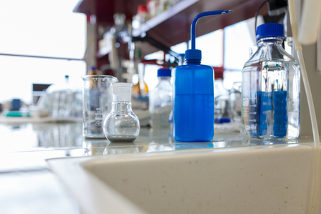 Foto de chemistry lab - Imagen libre de derechos