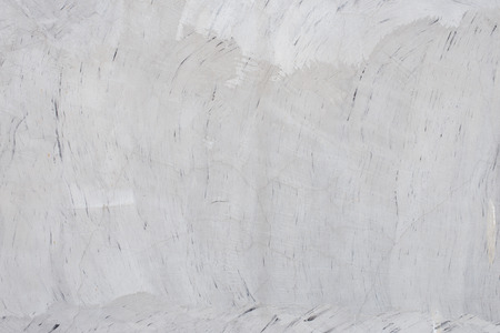 Foto de texture of the gray polished concrete wall with scratches for background - Imagen libre de derechos